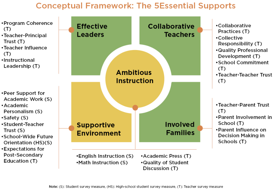 Conceptual Framework - The 5Essential Supports