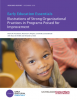 Early Education Essentials: Illustrations of Strong Organizational Practices in Programs Poised for Improvement
