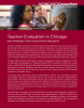 Teacher Evaluation in Chicago: Key Findings from Consortium Research