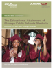 The Educational Attainment of Chicago Public Schools Students: A Focus on Four-Year College Degrees