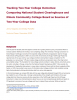 Tracking Two-Year College Outcomes: Comparing National Student Clearinghouse and Illinois Community College Board as Sources of Two-Year College Data